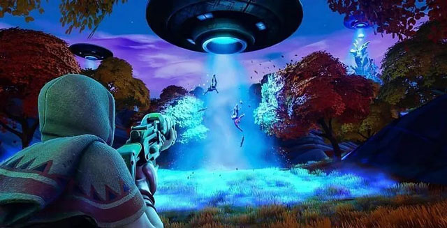 Fortnite UFO Locations
