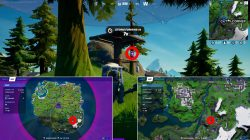how to get alien artifact fortnite locations