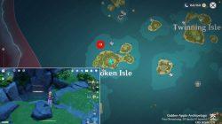 how to solve broken isle five pools pillars genshin impact puzzle