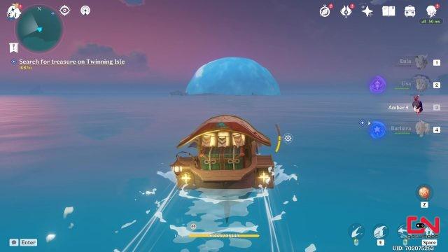 new bubble island genshin impact