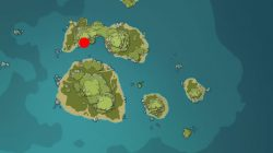treasure chest code genshin impact they who hear the sea