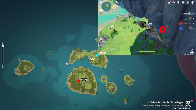 twinning isle echoing conch locations