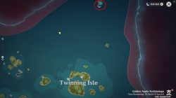 where is the nameless islet