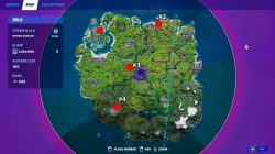 where to find week 3 alien artifacts fortnite locations
