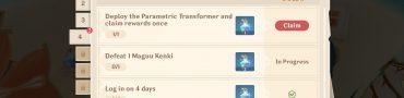 Genshin Impact Deploy Parametric Transformer