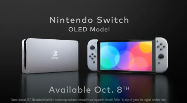 Nintendo Switch OLED Announced