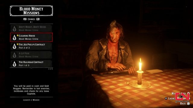 clearing house valuables & capitale locations rdr2 online