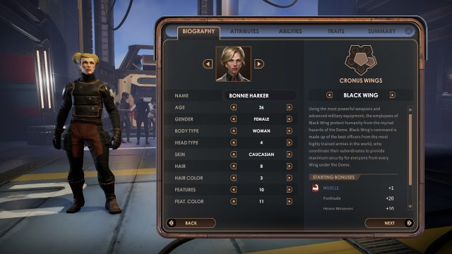encased character creation