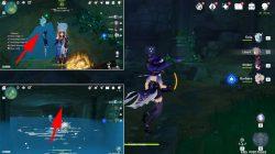 genshin impact how to get inazuma underwater teleport waypoint