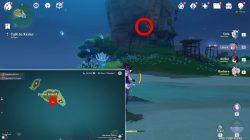 genshin impact two metal key locations where to find jinren island