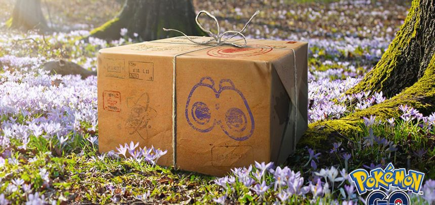 get a mystery box in pokemon go fifth anniversary