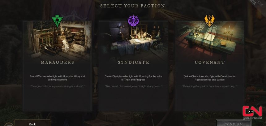 new world factions which faction to join