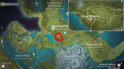 where to find genshin impact anemo cryo geo crystalflies locations