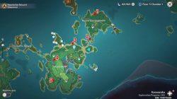 where to find genshin impact thunder sakura trees in sakura arborism