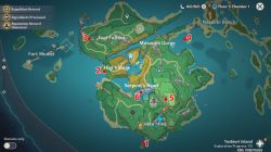where to find simple tomb locations genshin impact
