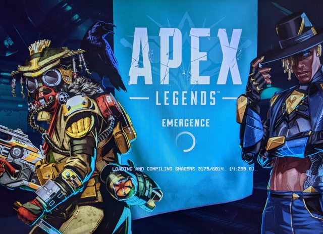 Apex Legends Loading and Compiling Shaders Solution