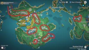 Crystal Marrow Locations