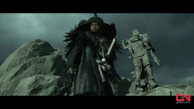 blood stained shrine solution ghost of tsushima bloodborne armor iki island