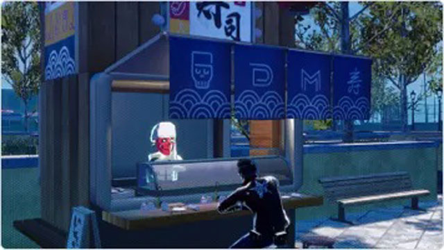 how to eat sushi no more heroes 3