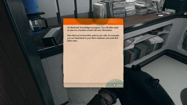 Colt's Apartment Safe Code - Deathloop
