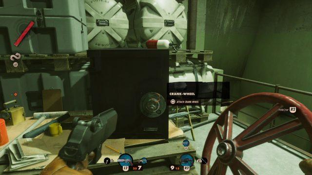 Crank-Wheel Safe Location