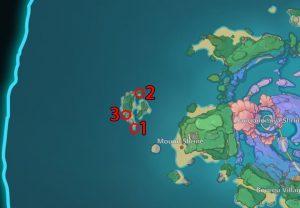 Eye of Watatsumi seal locations