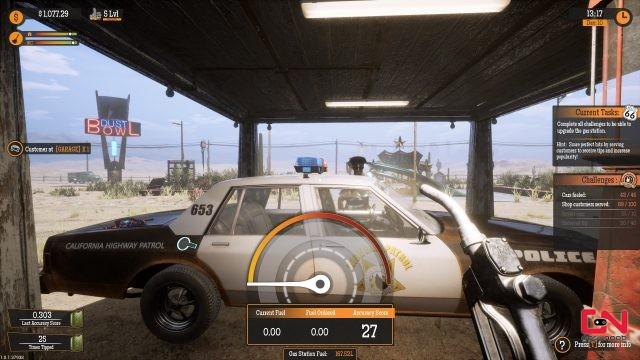 Gas Station Simulator Police Car