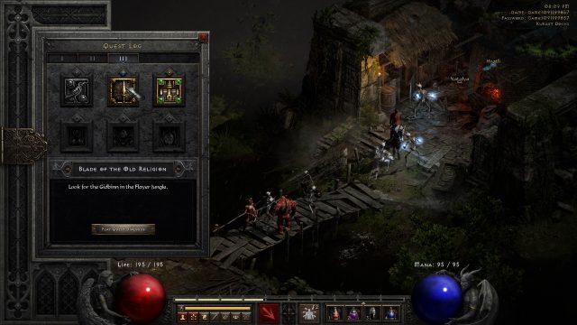 Look For the Gidbinn in the Flayer Jungle - Diablo 2 Resurrected