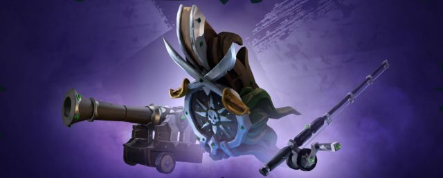 Sea of Thieves Twitch Drops - Claim Obsidian Ship Set Fishing Rod, Cannons & Figurehead