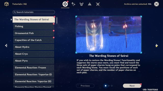 Seal the Warding Stone Genshin Impact - Seirai Stormchasers Parts 1, 2, 3, 4