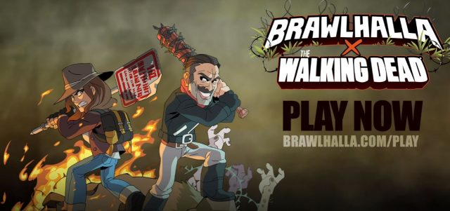 The Walking Dead's Negan and Maggie Come to Brawlhalla