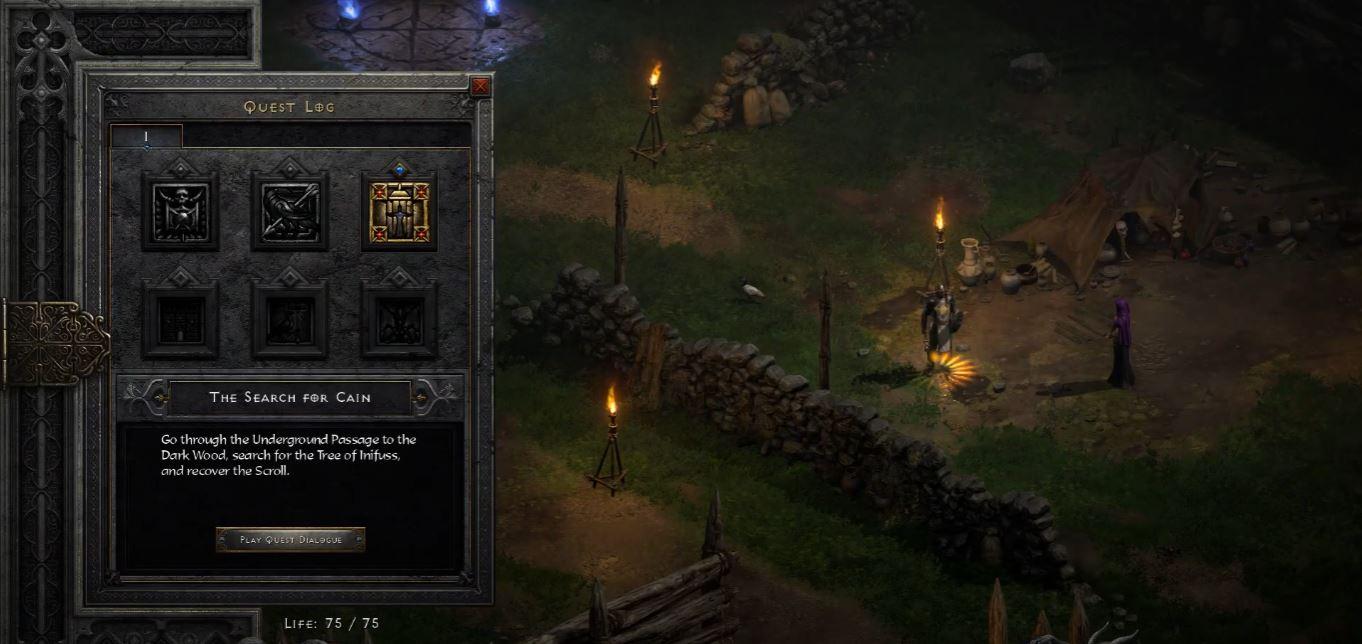 Underground Passage Diablo 2 Resurrected - How to Get to Dark Wood - GosuNoob.com