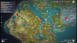 all fishing spots locations genshin impact