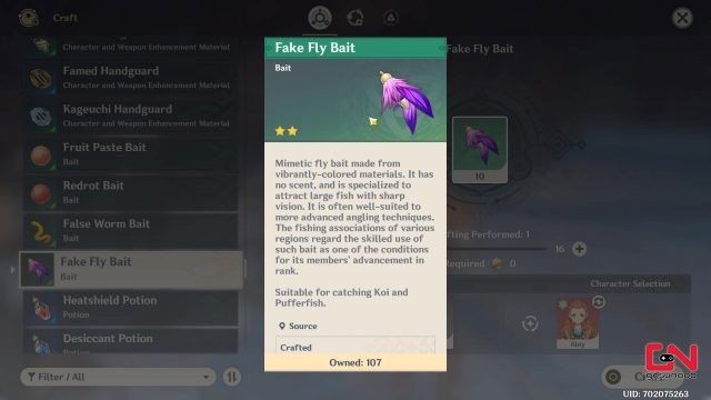 fake fly bait genshin impact