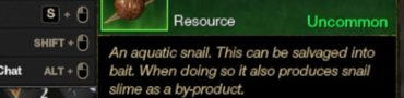 how to catch snail new world baited quest