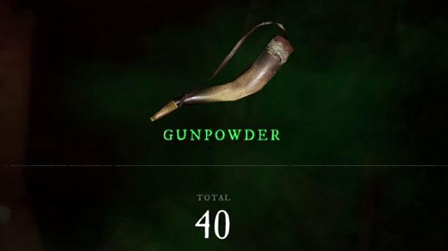 how to craft gunpowder new world
