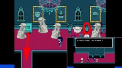 how to get basement deltarune chapter 2 location