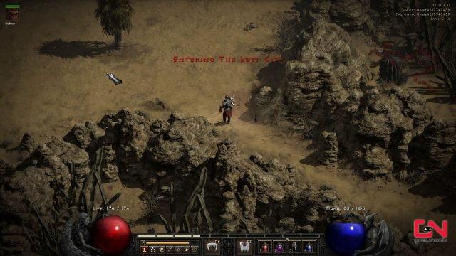 how to get to lost city diablo 2 resurrected