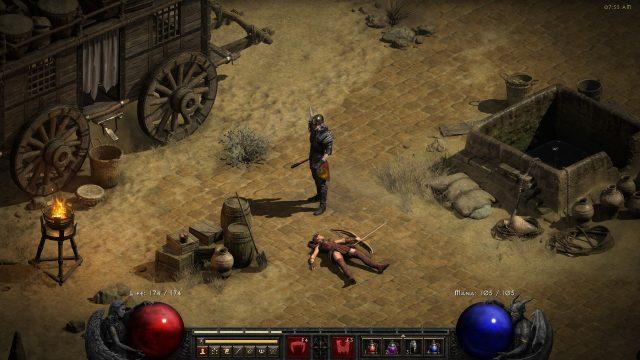 How to Heal and Revive Mercenary in Diablo 2 Resurrected