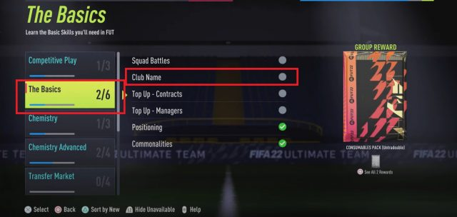 How to Rename Your Club Name in FIFA 22