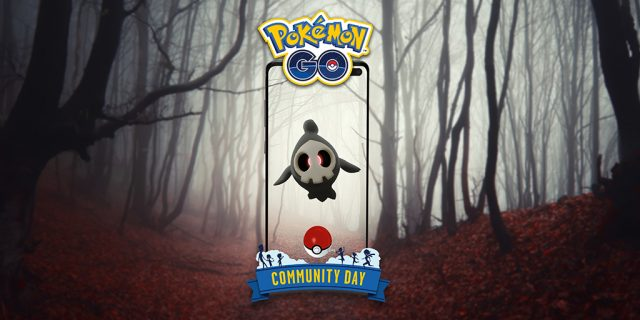 Pokemon Go Duskull October Community Day
