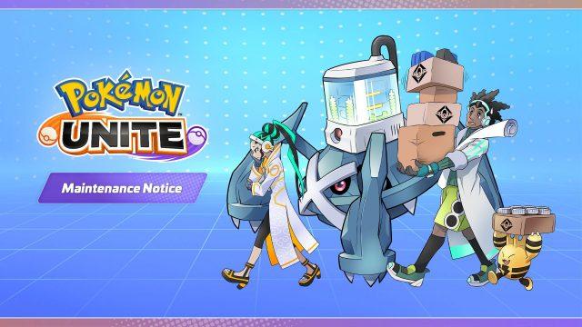 pokemon unite release date & time on mobile ios maintenance