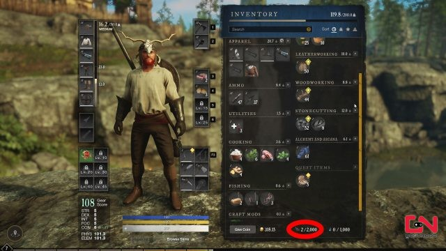 repair parts new world how to get & farm