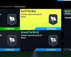 Six of the Best SBC FIFA 22