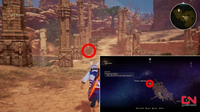 where to find tales of arise stone fragment locations