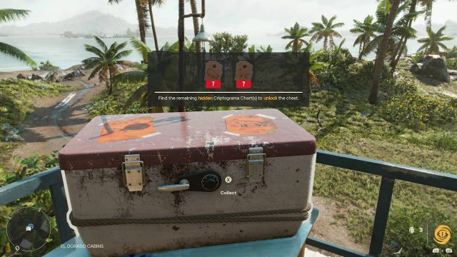 Far Cry 6 El Dorado Criptograma Chest Solution
