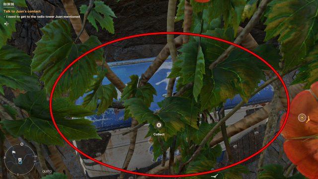 Far Cry 6 Get the Chest Next to Workbench in Isla Santuario Quito Region Ventura Summit