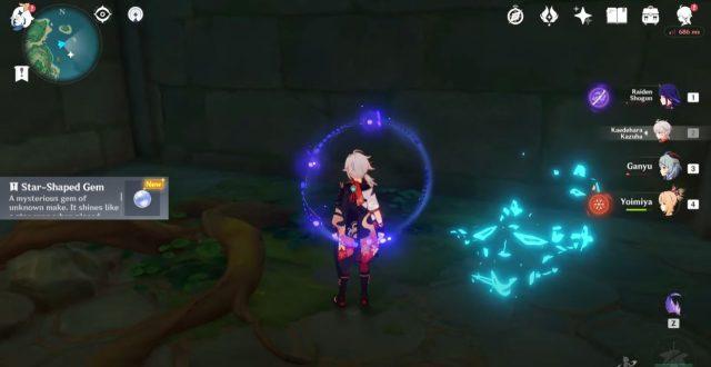 Genshin Impact Star Shaped Gem - How to Get