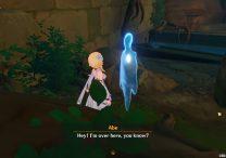 Ghost Abe Location & Mushroom Puzzle Solution Genshin Impact 2.2