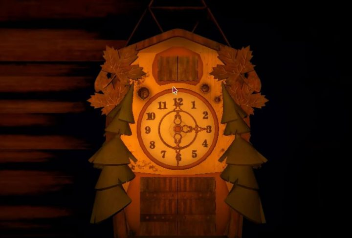 Inscryption Clock Puzzle in the Cabin Solution